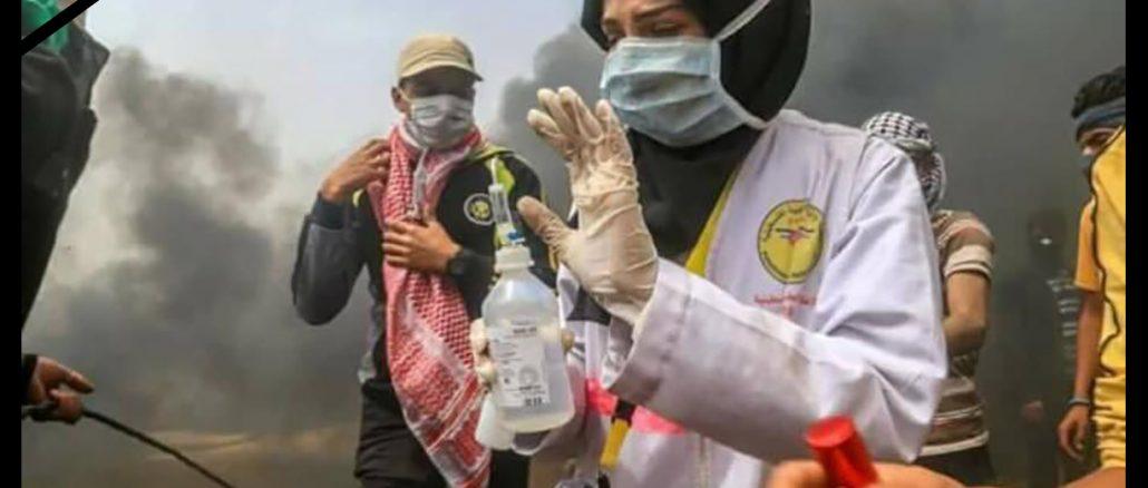 image-Interview with Nurse Martyr Razan Najjar Before IDF Terrorists Killed her in Gaza