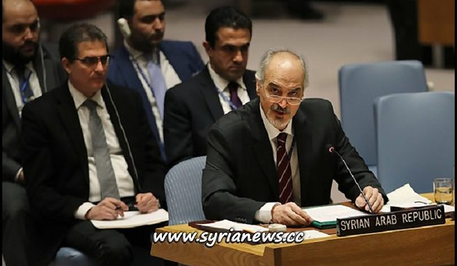 Bashar Jaafari Syria UN Representative Ambassador - UNSC بشار الجعفري مندوب سوريا الدائم لدى الأمم المتحدة - سفير