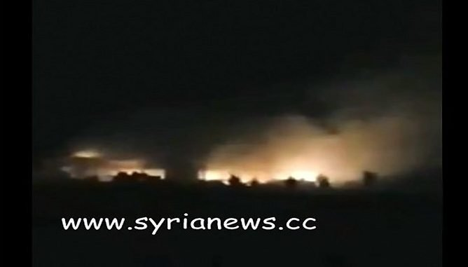 Israel Bombs Aleppo Emboldened by Trump