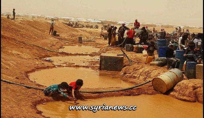 Suffering of Displaced Syrians in the Rukban Concentration Camp
