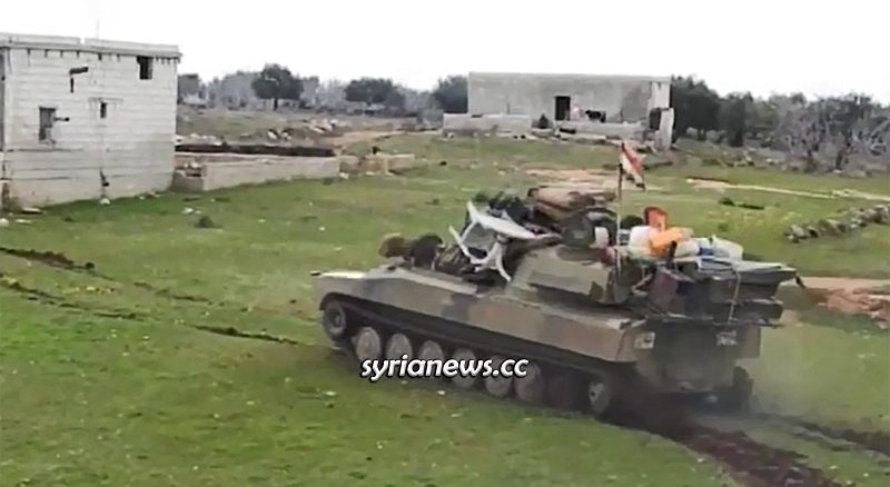 SAA Syrian Arab Army Cleaning Idlib from NATO Turkey terrorists
