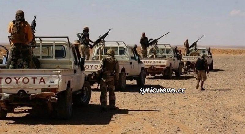 US and ISIS affiliated Maghawir Thawra Terrorists - Tanf and Rukban