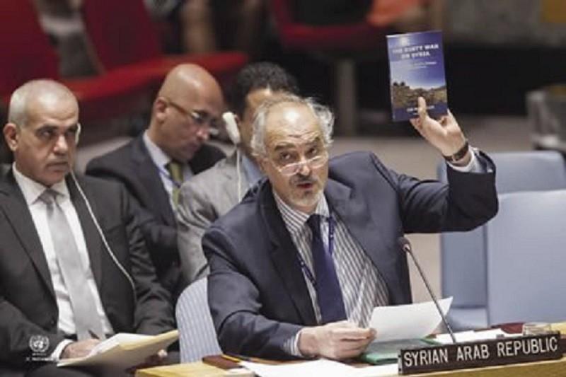 Ambassador Bashar Jaafari addresses the UN Security Council Aug 22 2016