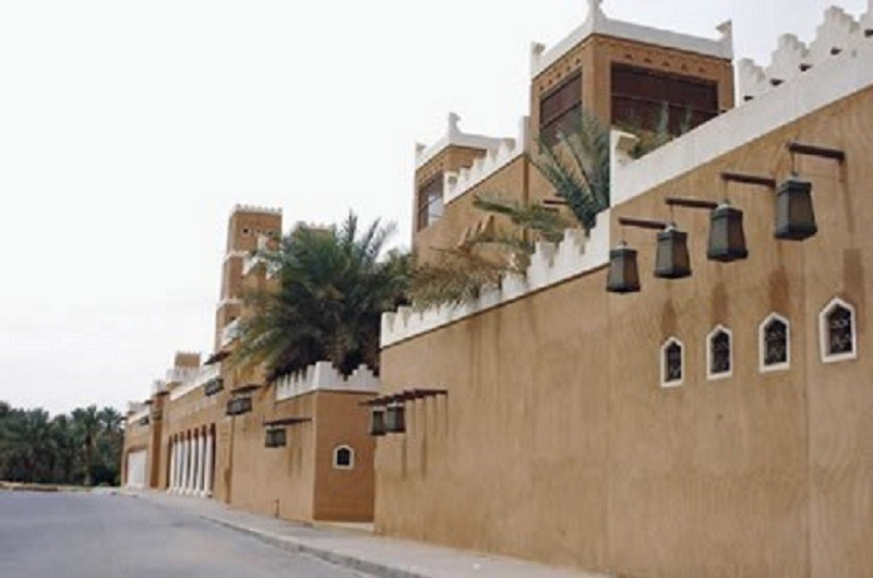 renovated mosque of of Muhammad Abdul Wahhab in Old Diriyyah Saudi Arabia